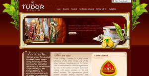 Tudor Tea Website