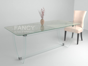 VENUS GLASS DINING TABLE