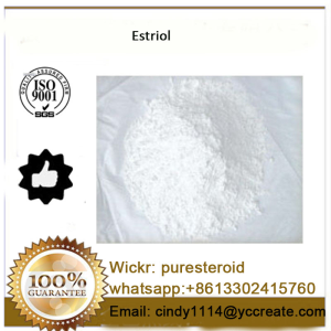 Estrogen Hormones White Raw Steroid Powder Estriol whatsapp+8613302415760