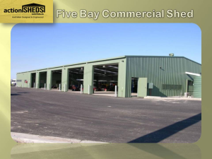 Industrial / Commercial Sheds