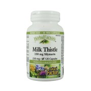 Want to Detoxify Your Body? Take Natural Factor Milk Thistle