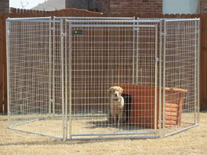 Welded Animal Pen and Cage