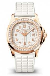 Rose Gold Patek Philippe Aquanaut Ladies Watch