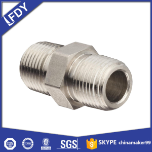 Malleable Iron Fitting-GI HEX NIPPLE