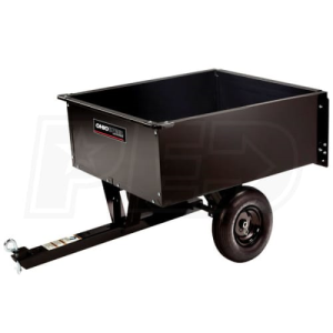 Ohio Steel 9 Cubic Foot Light Duty Steel Dump Cart