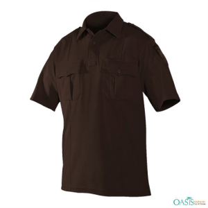 Brown Classic Twin Element Shirt