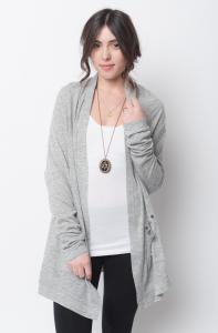 Buy online shawl heathered cardigan for women on sale at caralase.com