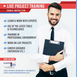 Live Project Training center in Lucknow