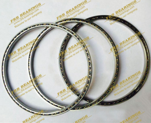 "Thin section sealed four point contact bearings JA series bearings(1/4"" x 1/4"")"