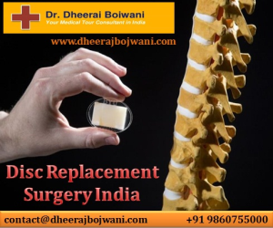 Disc Replacement Surgery India for highly effective pain management solutions for global patients