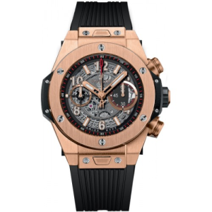 Shop Hublot Big Bang Unico Chronograph King Gold Watch