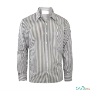 Black and White Pin Striped Shirts