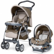 Chicco Cortina KeyFit Travel System - Chevron