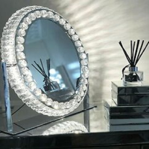 LED Glam Hollywood Dressing Table Mirror Vanity Lighted