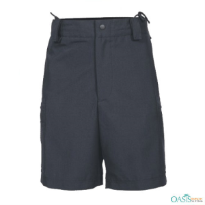 Dark Navy Knee Length Shorts
