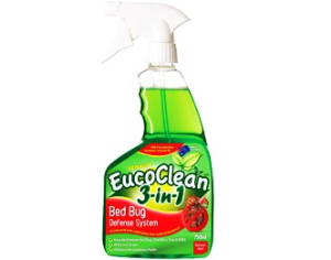 Eucoclean 3-In-1 Bed Bug Defense System