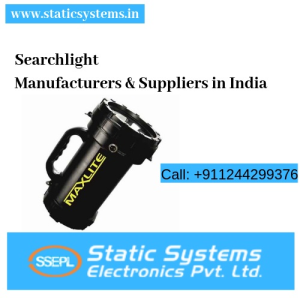 Revolving Searchlight Manufacturer India