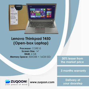 Cheaper Open-box Laptops at Zuqoon