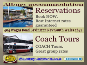 Looking for Motels in Albury?