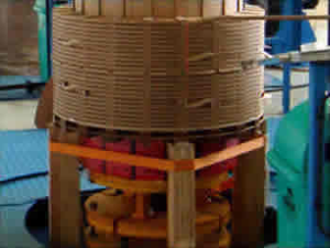 Pit Type Vertical Coil Winding Machine