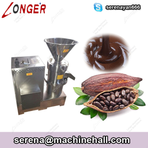 Cocoa Bean Grinding Processing Machine for Sale