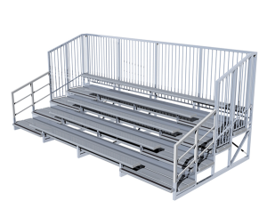 Quality Aluminium Grandstand Seating | Felton Industries Australia