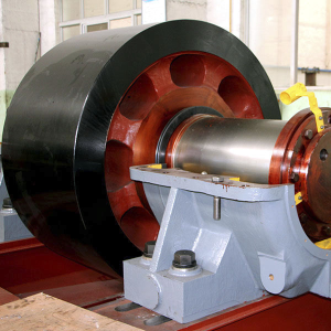 Supporting Roller and Axle Shaft for Riding Rings