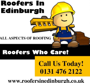 Roofers In Edinburgh, Honest Reliable Roofers