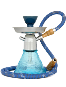 MYA PETITE HOOKAH (LIGHT BLUE) (1 Hose)