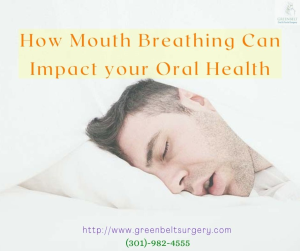 How Mouth Breathing can impact your Oral Health