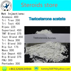 Testosterone Acetate steroid powder