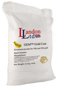 Investment powder (GEM Gold Cast)