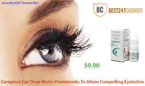 Attain Long Eyelashes By Using Careprost Eye Drops