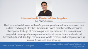 Hemorrhoids Center of Los Angeles