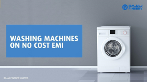 Avail Washing Machine on Easy Monthly EMI Plans