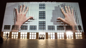 3D Projection mapping by V-Studio