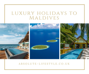 luxury holidays to Maldives