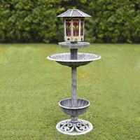 MARBLE/ STONE BIRD BATHS & FEEDERS