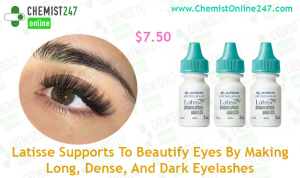 For Long And Dark Eyelashes Use Latisse Eye drops