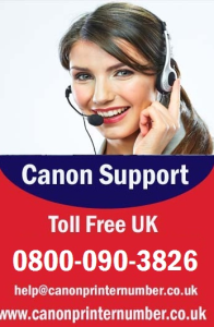 Canon Printer Support Number For UK Service