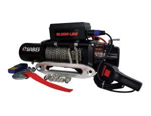 SYNTHETIC ELECTRIC WINCH ROPE – 12,000LBS