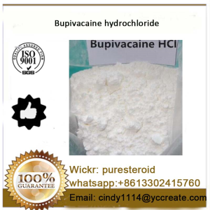 Local Anesthetic White Powder Bupivacaine whatsapp+8613302415760