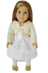 Holiday Dress for American Girl Dolls