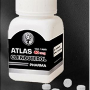 Clenbuterol HCL 40mcg by Atlas-Pharma-Original