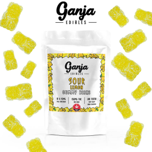 Ganja Bears Sour Lemon