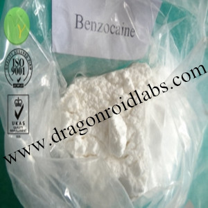Anesthesia Material Benzocaine for Pain Killer  www.dragonroidlabs.com