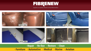 Leather Repair, Vinyl Restoration and Plastic Renewal Services in Nelson, New Zealand