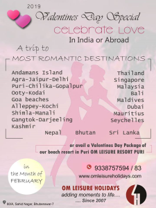 Valentine Special with Om Leisure Holidays