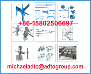 Quick erection scaffolding system