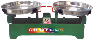 WEIGHING SCALE BOTH SIDE STEEL DISH